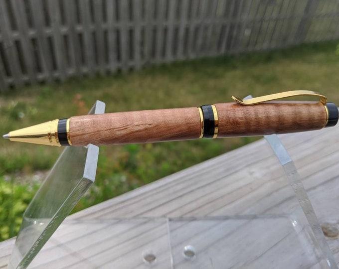 Custom Cigar Pen - Figured Maple