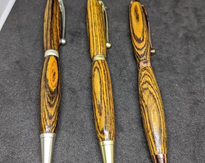 Handmade Wood Pen - Bocote Wooden Pen