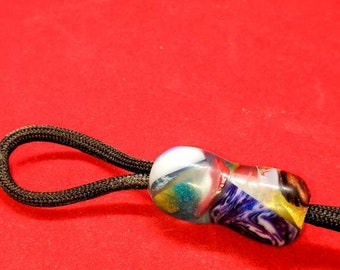 Paracord Lanyard Bead for EDC, Knive, Keyring or Flashlight