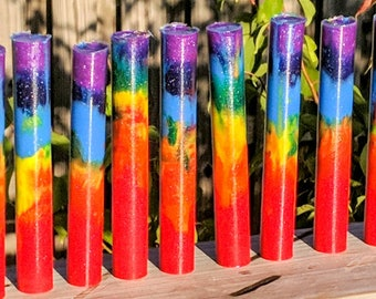 Alumilite Pen Blank - Rainbow