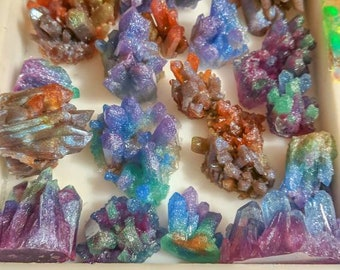 Resin Crystal Clusters