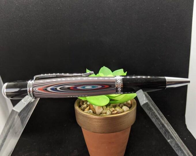 Detroit Agate Fordite Pen Handmade