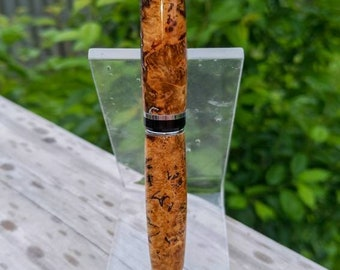 Custom Cigar Pen - Maple Burl