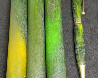 Pen Blank - Jade Stone Colors