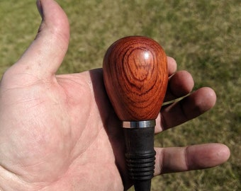 Wine Stopper Red Padouk Wood for Wine Lovers