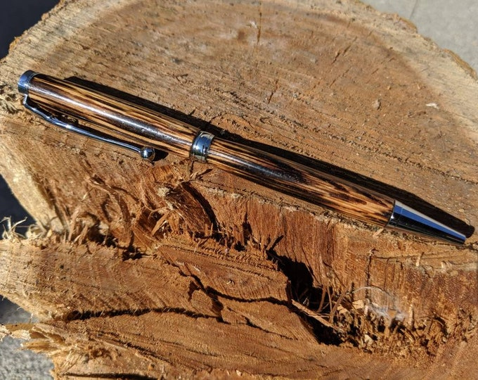 Jack Daniels Whiskey Barrel Pen - Wood Pen