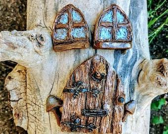 Fairy door for tree | Etsy