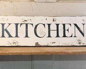 Kitchen farmhouse sign kitchen wall decor housewarming gift rustic home decor christmas gift & Kitchen wall decor | Etsy