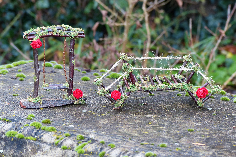 Fairygarten Set Gartenelfen Märchenmöbel Märchenminiaturen Etsy
