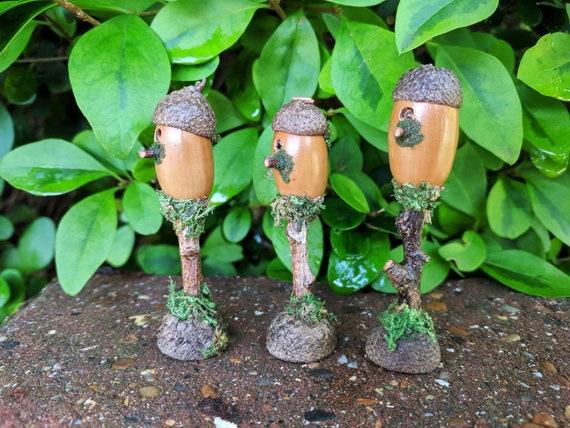 Miniature Dollhouse Mini Vintage Balance Garden Fairy Bonsai Plant Landscape