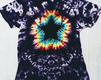 c5cc12e03c22 Tie dye star burst tshirt