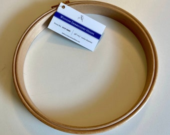 "Woodgrain effect 8 x 10/"" Siesta Flexi OVAL Embroidery Hoop"