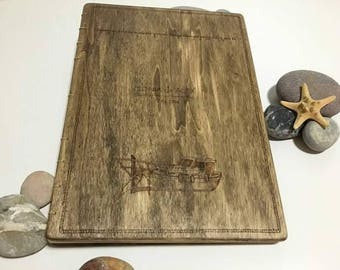 Photo album, custom photo album, photo album with wooden covers