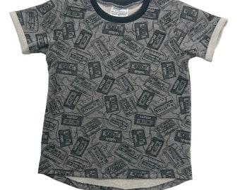 Size 8 Kid - Cassette Tape Sweatshirt!