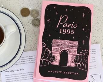 Paris 1995 Zine - Travel Stories -