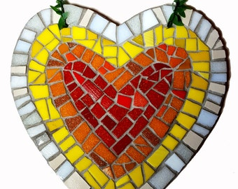 Christmas Gift, Birthday Gift, Valentines Day Gift, Gift for her, Anniversary Gift, Mothers Day Gift, Love, Heart, Wooden Heart, Mosaic, Art