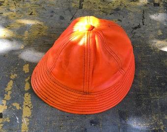 80s Orange Bucket Hat  94c5e5b3ae1e