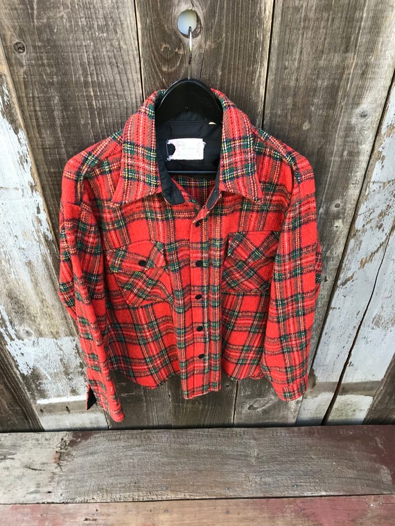 Beautiful Vintage Flannel Shirt | Thick Flannel S… - image 3