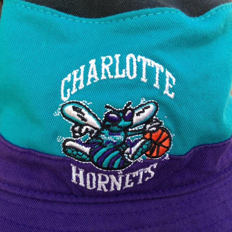 90s Charlotte Hornets benna cappello Vintage Charlotte  60226ed10c9e