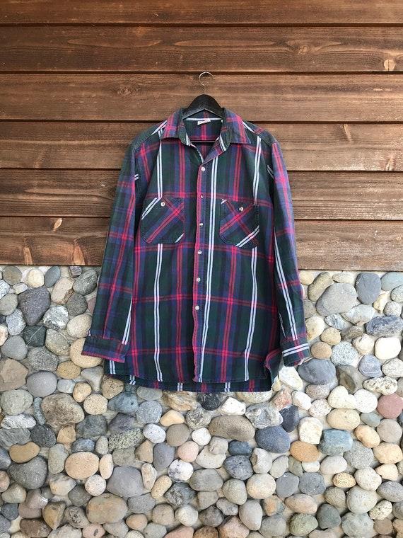 Vintage Long Sleeve Wrangler Shirt | Mens Long Sl… - image 1