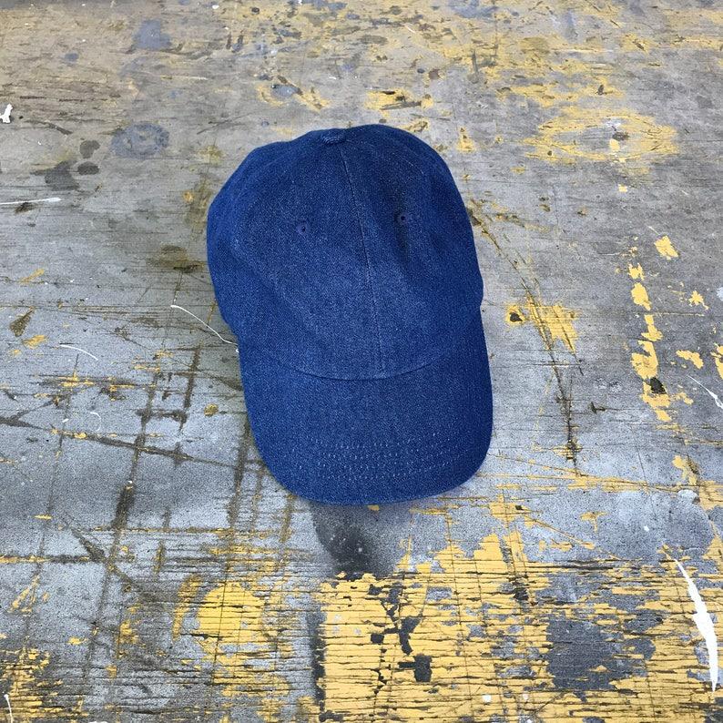 Vintage Denim Hat 90s Denim Hat Denim Baseball Cap Denim  28870084555
