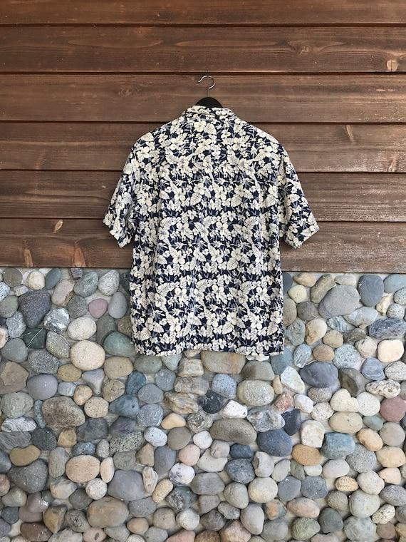 Vintage Hawaiian Polo | Mens Arrow Hawaiian Shirt… - image 2