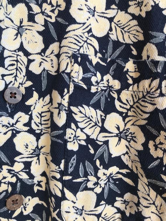 Vintage Hawaiian Polo | Mens Arrow Hawaiian Shirt… - image 4