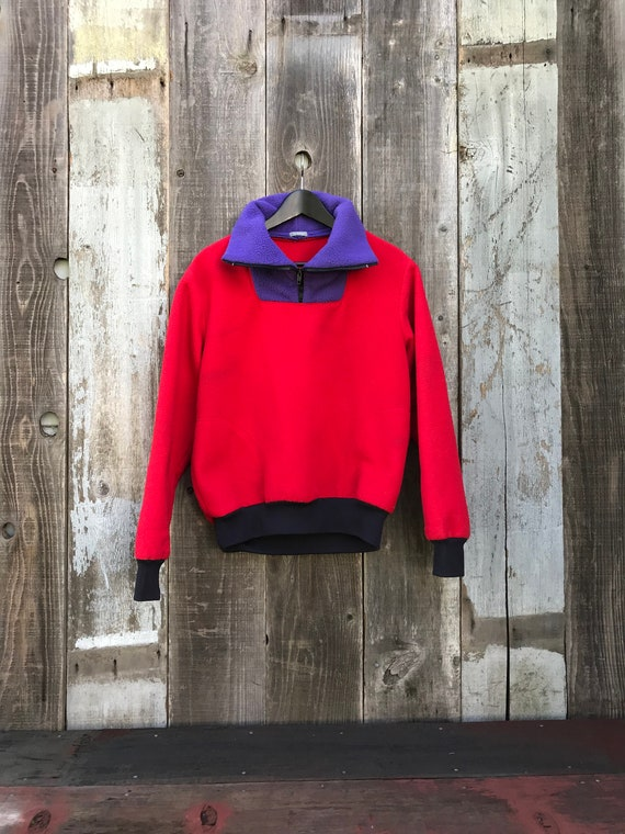 Beautiful Color Block Fleece | 90s Color Block Fl… - image 4