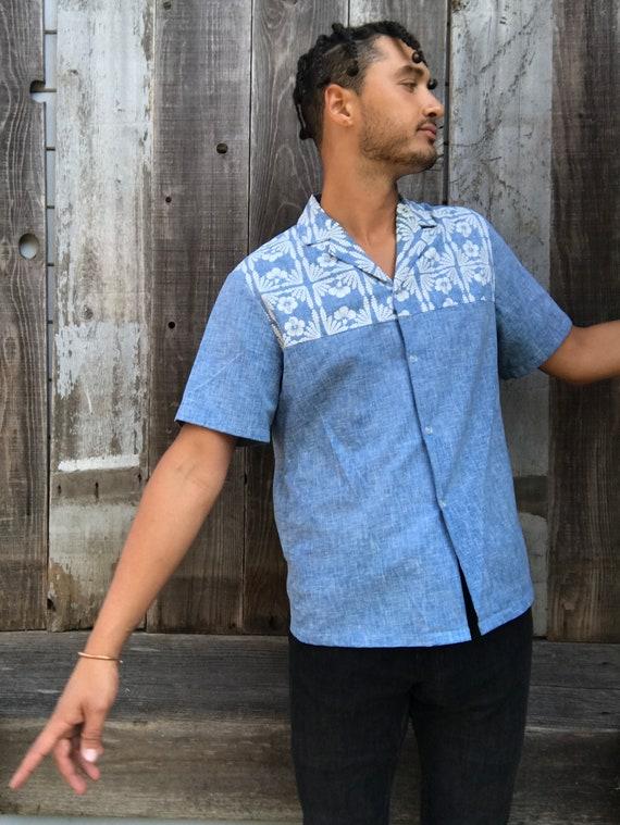 Hawaii Shirt Polo Shirt Polo Large Hawaiian Clothing Mens Handsome Mens Vintage Vintage Vintage Shirt Hawaiian Vintage wIUPqv0