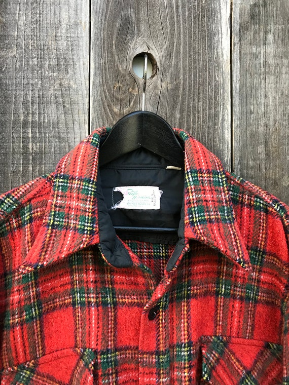 Beautiful Vintage Flannel Shirt | Thick Flannel S… - image 4