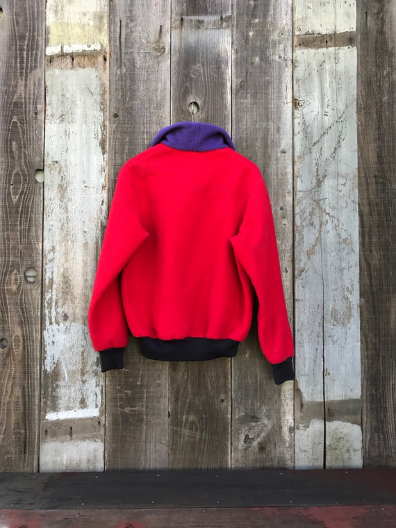 Beautiful Color Block Fleece | 90s Color Block Fl… - image 5