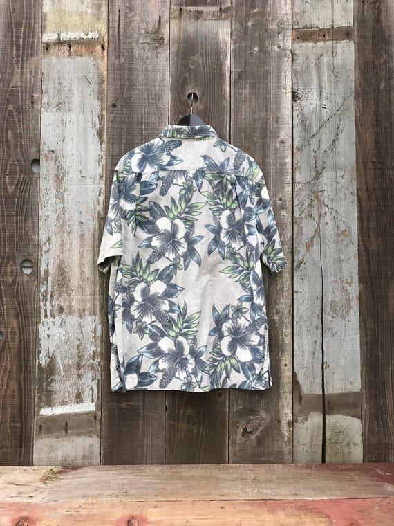 Vintage Hawaiian Shirt   Mens Hawaiian Shirt   Me… - image 2