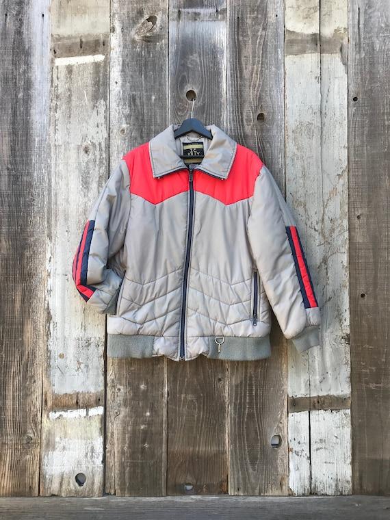 Mens 80s Ski Jacket   Mens Striped Ski Jacket   Me