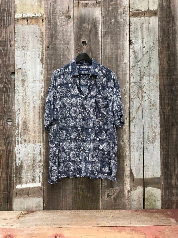 Vintage Hawaiian Shirt | Mens Hawaiian Shirt | Me… - image 2