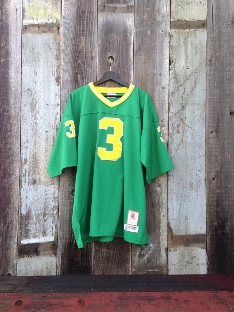 Vintage Joe Montana Notre Dame Jersey Notre Dame Joe Montana  4782f95f6