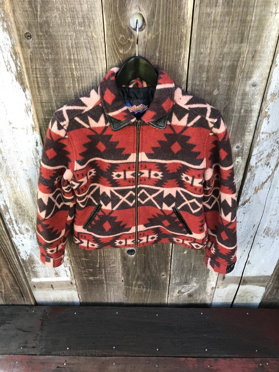 Aztec Womens Lined Womens Beautiful Mens Vintage Jacket Jacket Vintage Jacket Clothing Leather Outdoors Clothing Aztec AFqWtn1Wa0