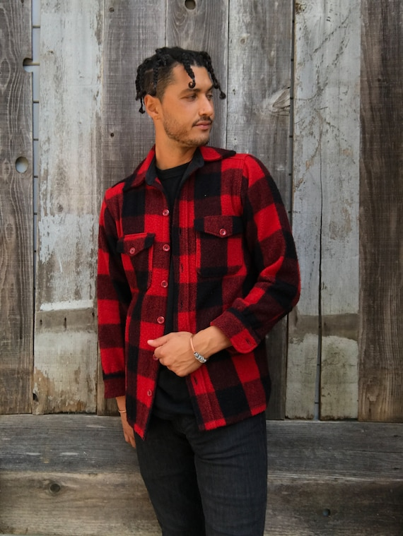 Vintage Wool Flannel | Long Sleeve Flannel | Comfy
