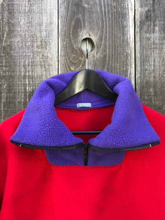 Beautiful Color Block Fleece | 90s Color Block Fl… - image 7
