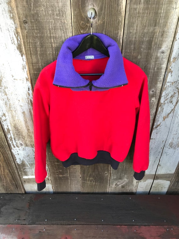 Beautiful Color Block Fleece | 90s Color Block Fl… - image 6
