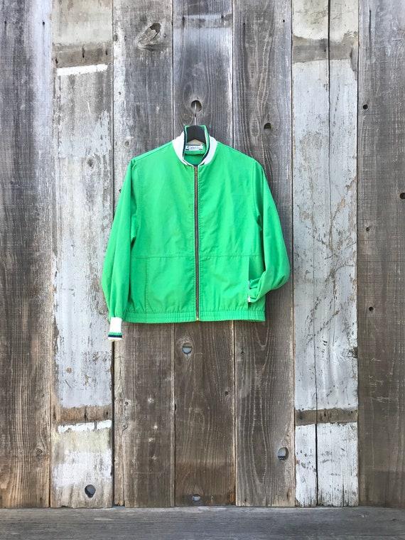 Beautiful 80s Catalina Island Jacket | Green Catal