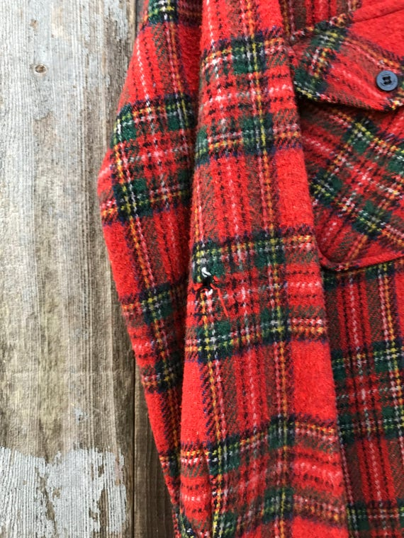 Beautiful Vintage Flannel Shirt | Thick Flannel S… - image 5