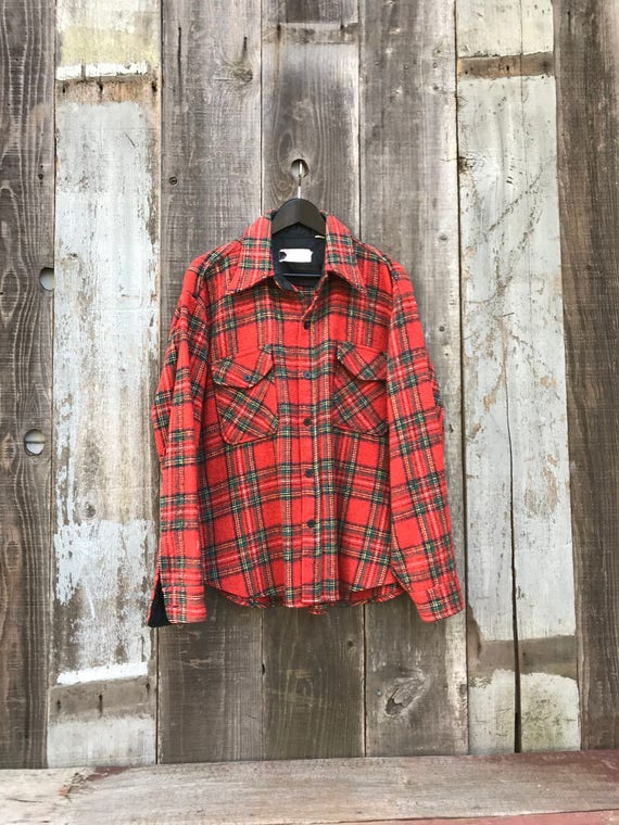 Beautiful Vintage Flannel Shirt | Thick Flannel Sh