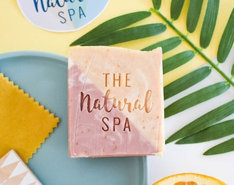 Citrus Blossom, Cold Process Soap, homemade soap, self care, Sustainable, Zero Waste, naked, Zero Waste Beauty, Zero Waste Soap, Home