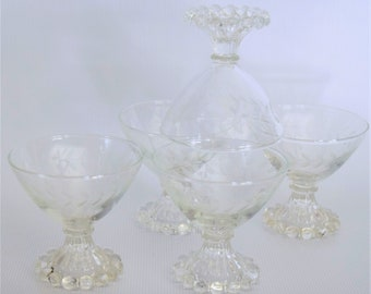 Etched Boopie Champagne glasses