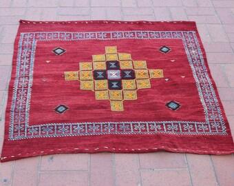 Small Boho Rug, Turkish Vintage Rug, Bohemian Rug, Tribal Rug, Anatolian Rug, Anadol Rug