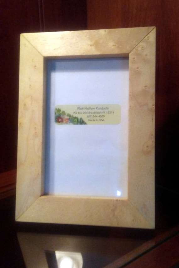 Wholesale Birdseye Maple 5x7 Picture Frame Hand Made In The