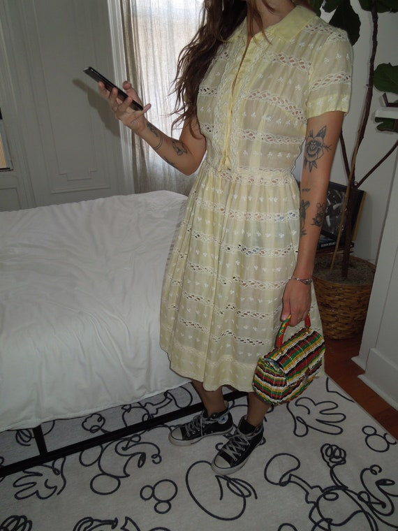 Vintage L'AIGLON Dress