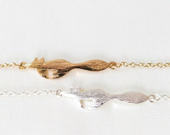 Fox Necklace. Gold Fox Necklace. Foxy Necklace. Woodland Necklace. Animal Necklace. Nature Inspired. Valentine Gift For Her. Garden Wedding.