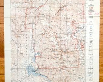 Minturn Colorado Map.Antique Minturn Colorado 1950 Us Geological Survey Etsy