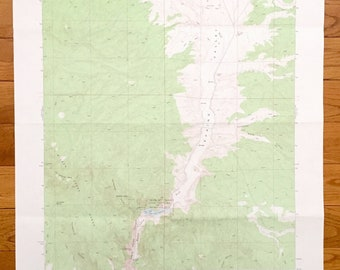 Mountain Range Map Etsy - Topographic-map-of-us-mountain-ranges
